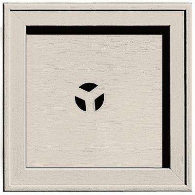7.75 in. x 7.75 in. #048 Almond Recessed Square Mounting Block