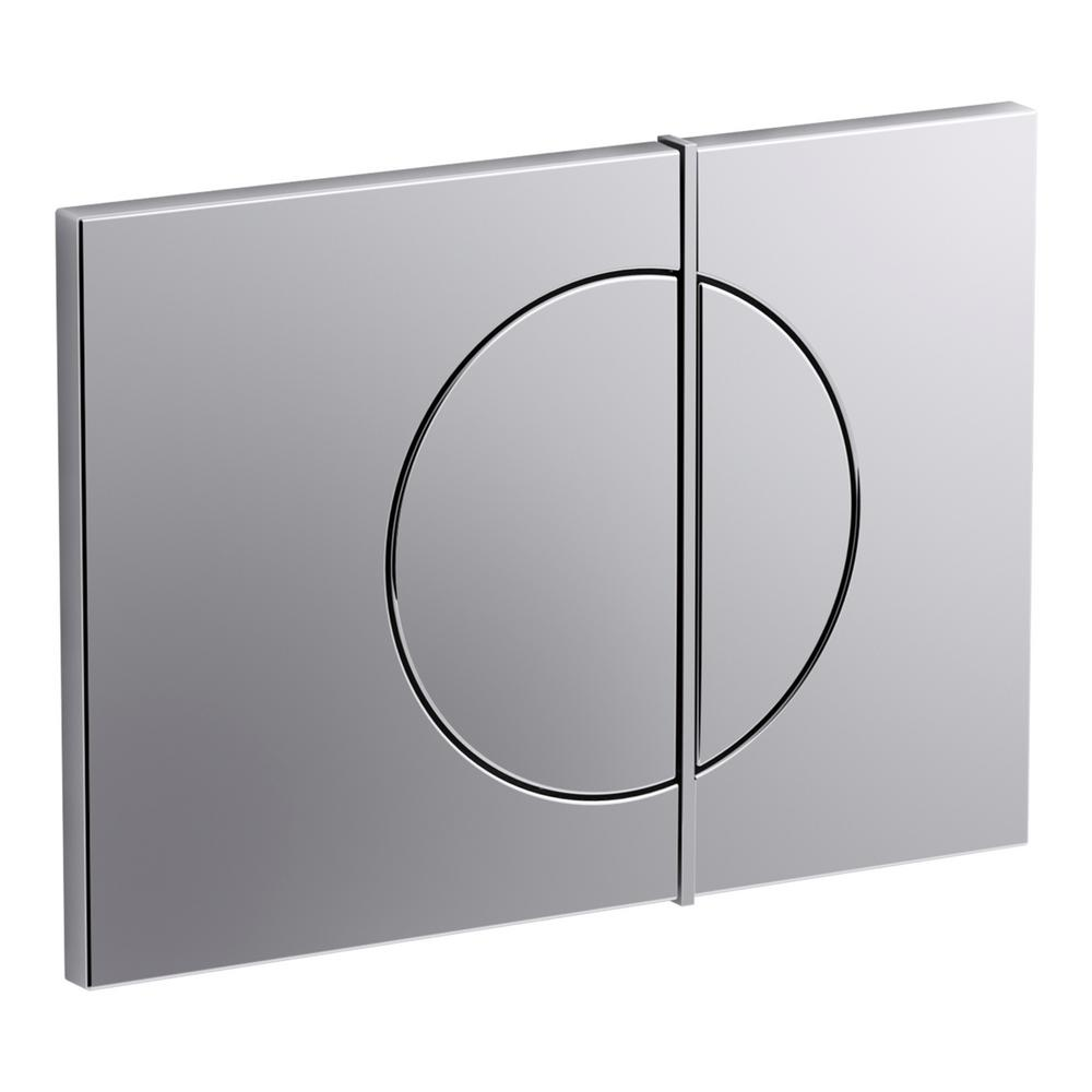 Flush Actuator Plate for Veil In-Wall Tank in Polished Chrome