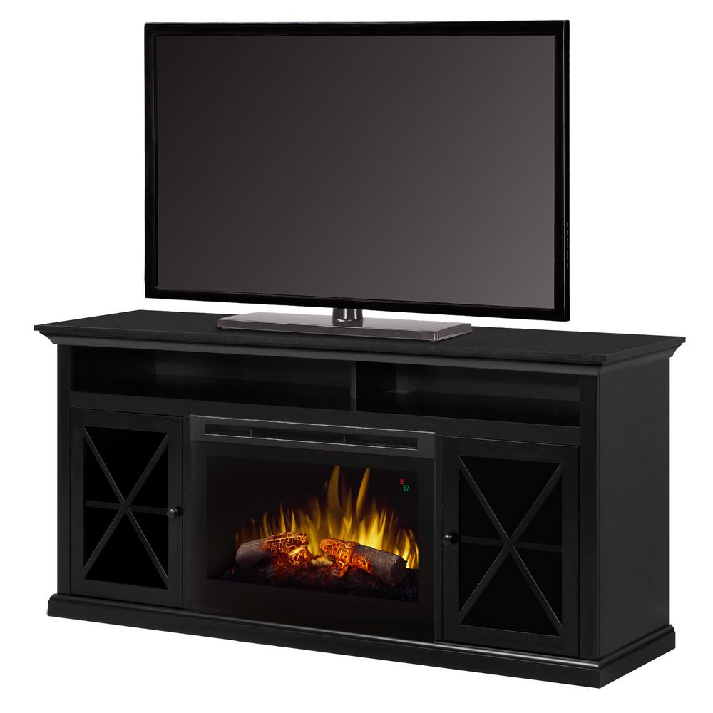 Dimplex Fireplace TV Stands Electric Fireplaces The Home Depot