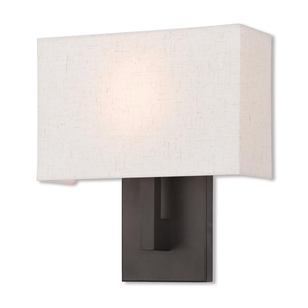Hayworth 1-Light Bronze ADA Wall Sconce