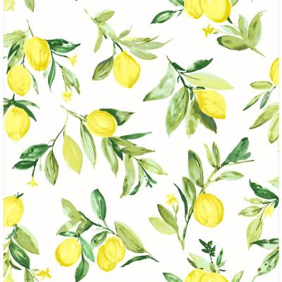 Limon Chartreuse Fruit Chartreuse Paper Strippable Roll (Covers 56.4 sq. ft.)