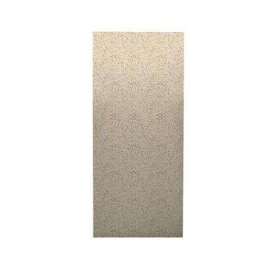 Pebble 1/4 in. x 36 in. x 96 in. One Piece Easy Up Adhesive Shower Wall in Bermuda Sand