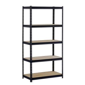 Edsal 72 in. H x 36 in. W x 18 in. D 5-Shelf Commercial Shelving Unit