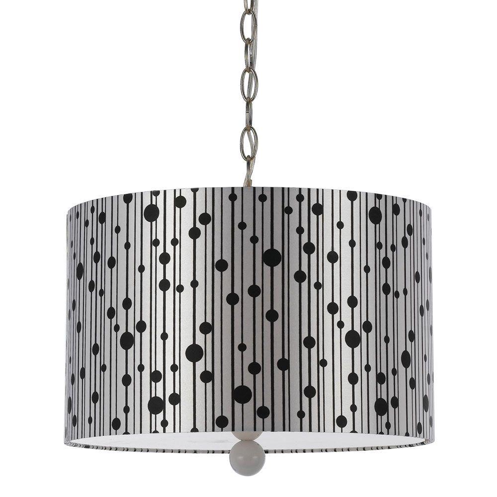 8443 3-Light Silver Pendant