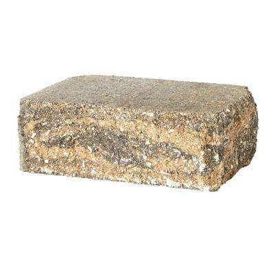 SplitRock Corner 3.5 in. x 10.5 in. x 7 in. Yukon Concrete Garden Wall Block (96 Pcs. / 40.8 Face ft. / Pallet)