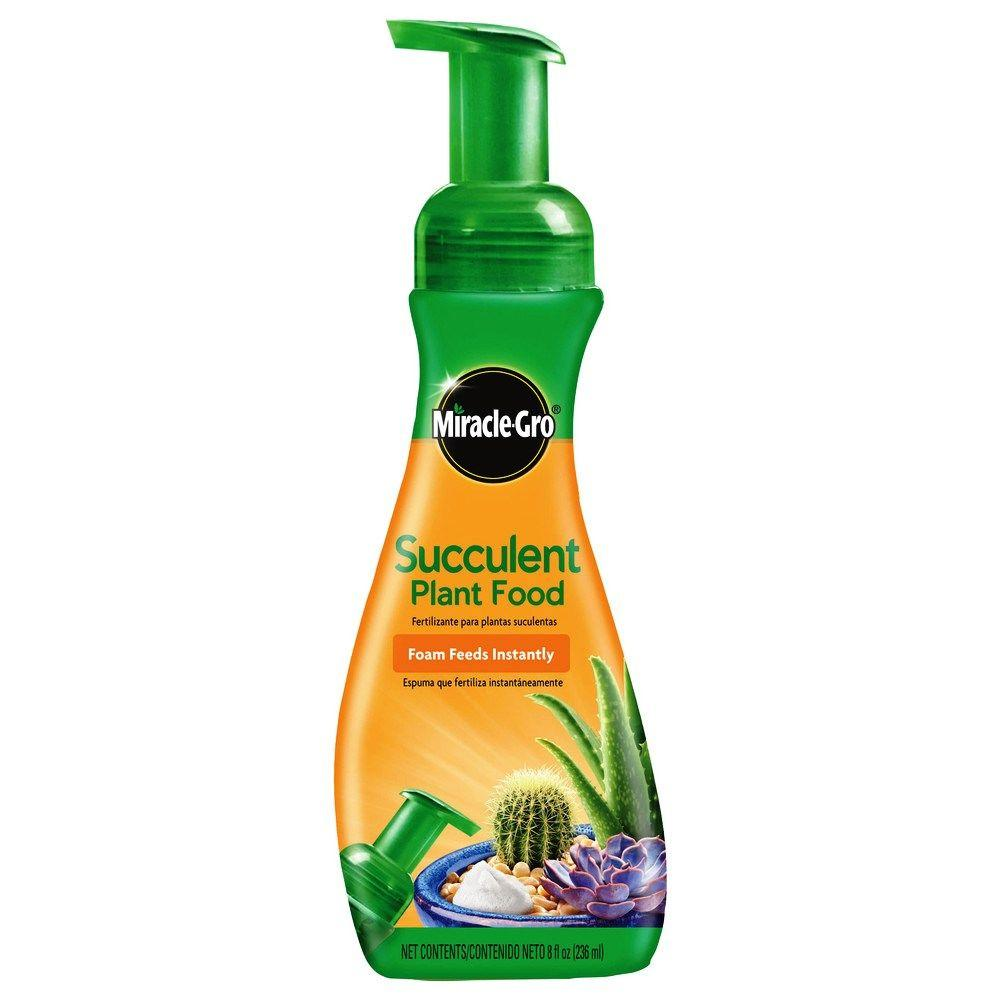 Miracle-Gro 8 oz. Foaming Succulent Plant Food