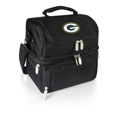 Pranzo Black Green Bay Packers Lunch Bag