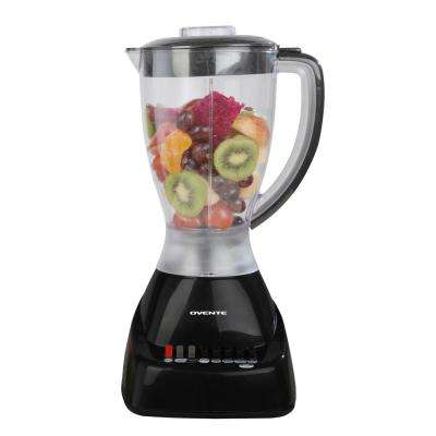Black Ovente Professional 12-Speed Blender BPA-Free