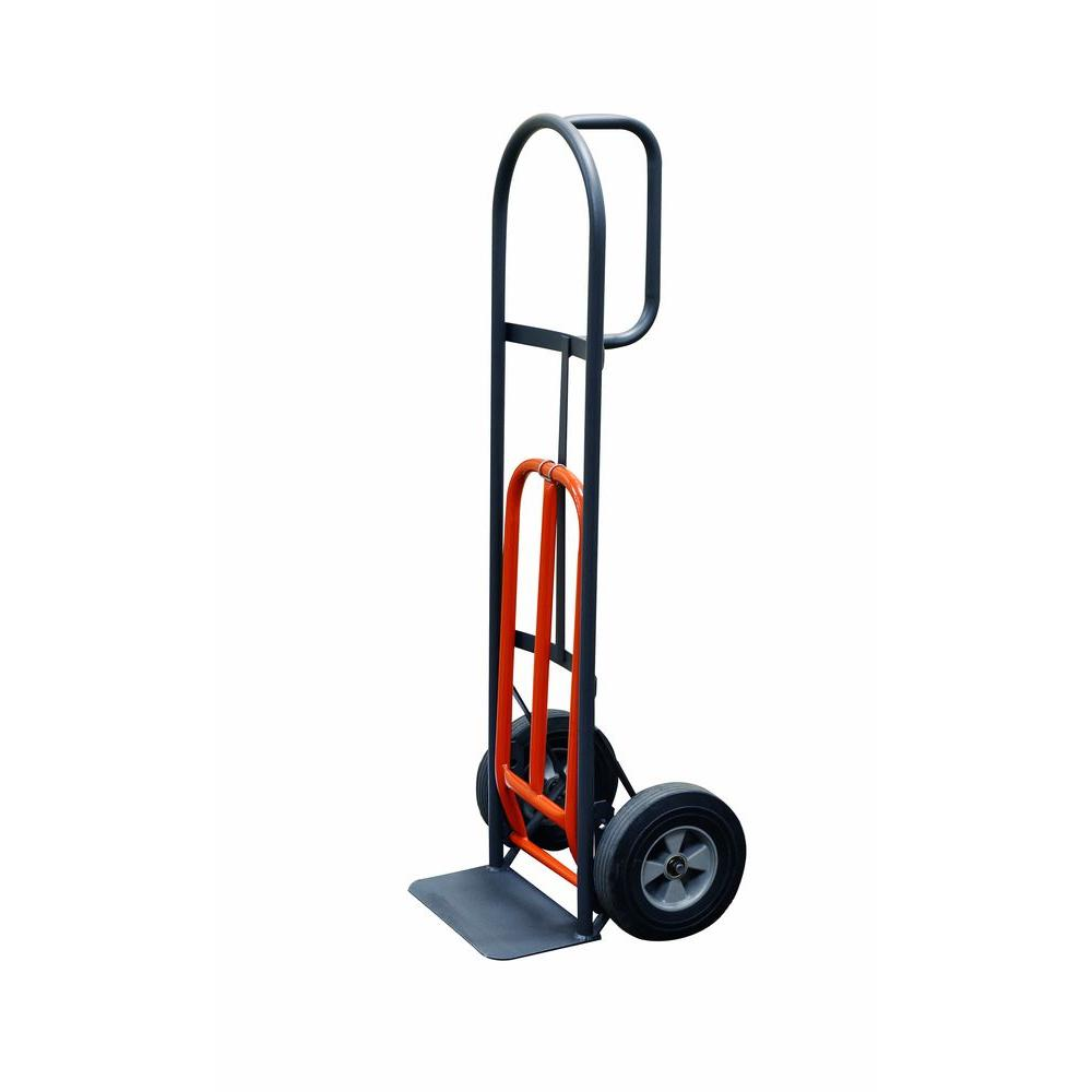 800 lb. Capacity D-Handle Hand Truck with 10 in. Puncture Proof