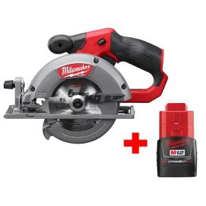 Milwaukee M12 FUEL 12-Volt Brushless 5-3/8 in. Circular Saw w/ Battery Deals