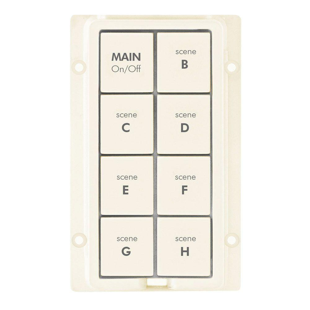 Insteon KeypadLinc 8-Button Replacement Keypad Kit