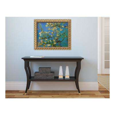24 in. x 20 in. 'Almond Branches Bloom, San Remy 1890' by Vincent van Gogh Printed Framed Canvas Wall Art