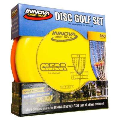 3-Pack Disc Golf Starter Set