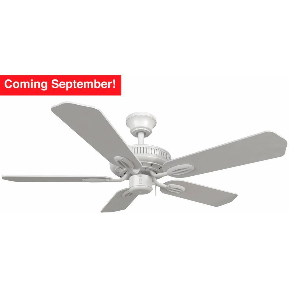 Glendale 42 in. Indoor White Ceiling Fan