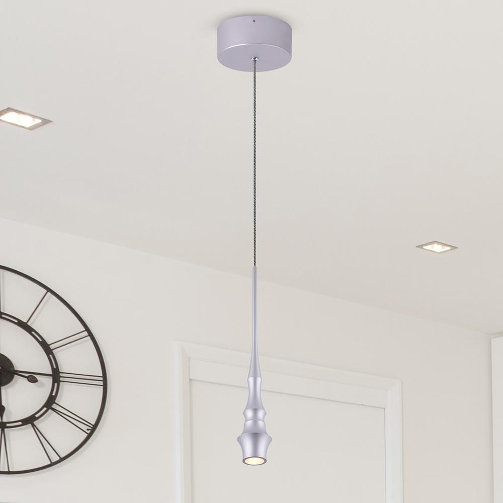 Polaris VMP26610AL 7-Watt Silver Integrated LED Pendant