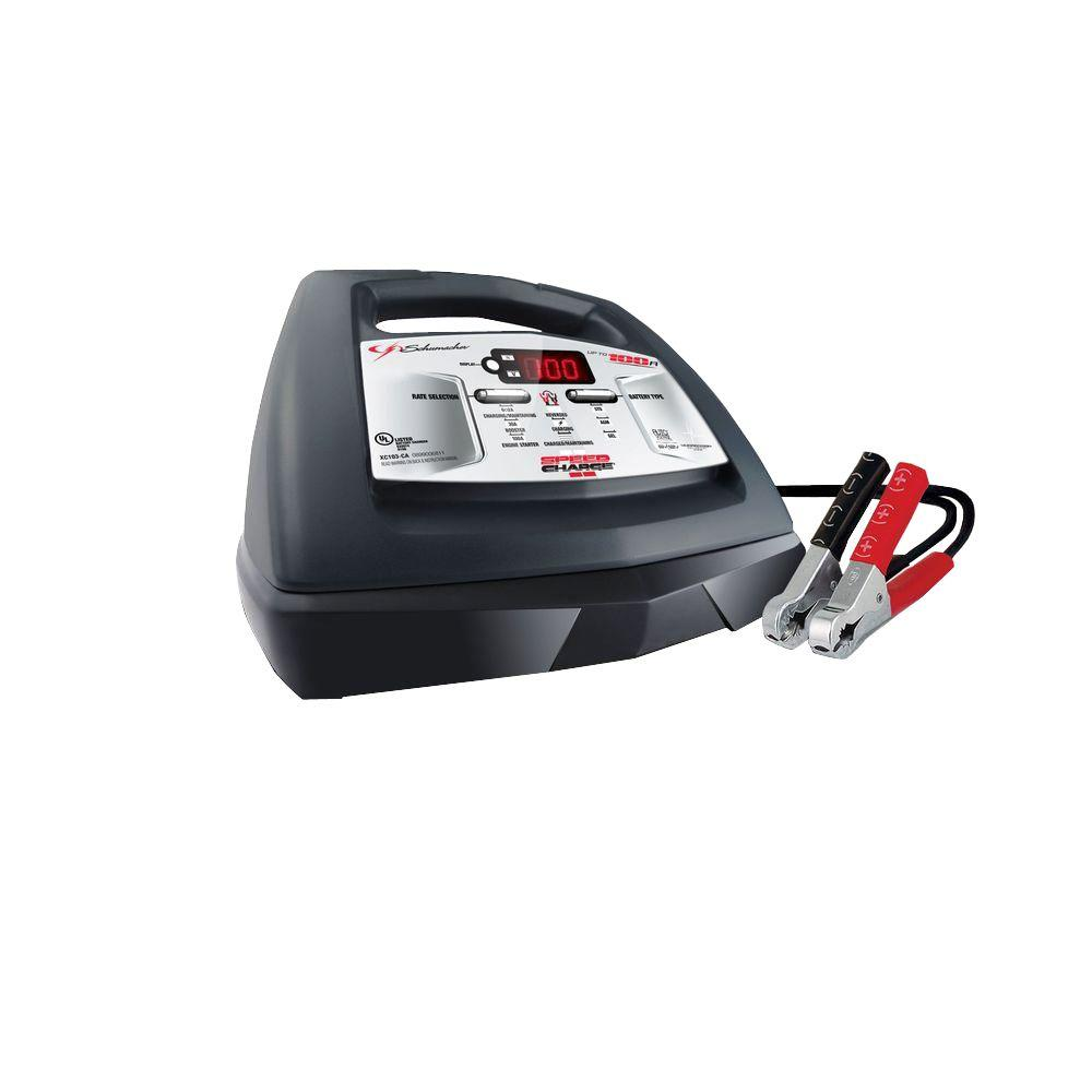 Schumacher 6/12-Volt Fully Automatic Battery Charger