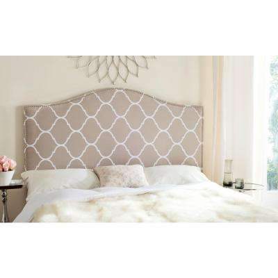 Connie Pearl Grey Queen Headboard