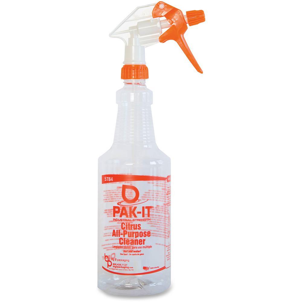 32 fl. oz. PAK-IT Heavy-Duty All-Purpose Cleaner Spray Bottle
