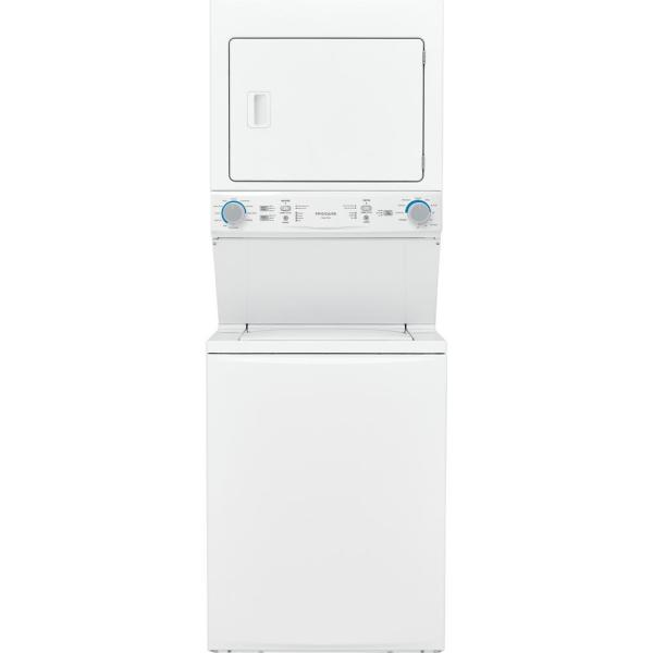 White Electric Washer/Dryer Laundry Center - 3.9 cu. ft. Washer and 5.5 cu. ft. Dryer