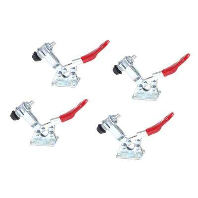60 lbs. Horizontal Quick-Release Toggle Clamp (4-Pack)