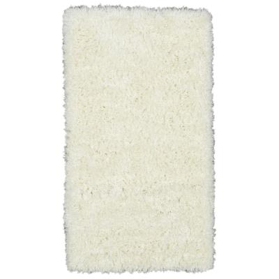 Ottomanson Pure Fuzzy Flokati Ivory 2 ft. 7 in. x 5 ft. Faux Sheepskin Indoor Kids Area Rug