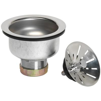 Sink Strainer with Double Cup Installation