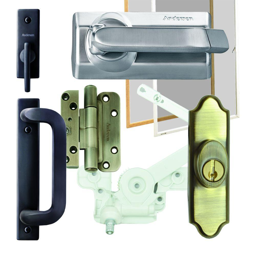 Andersen Window Sash Lock with Keeper and Lift