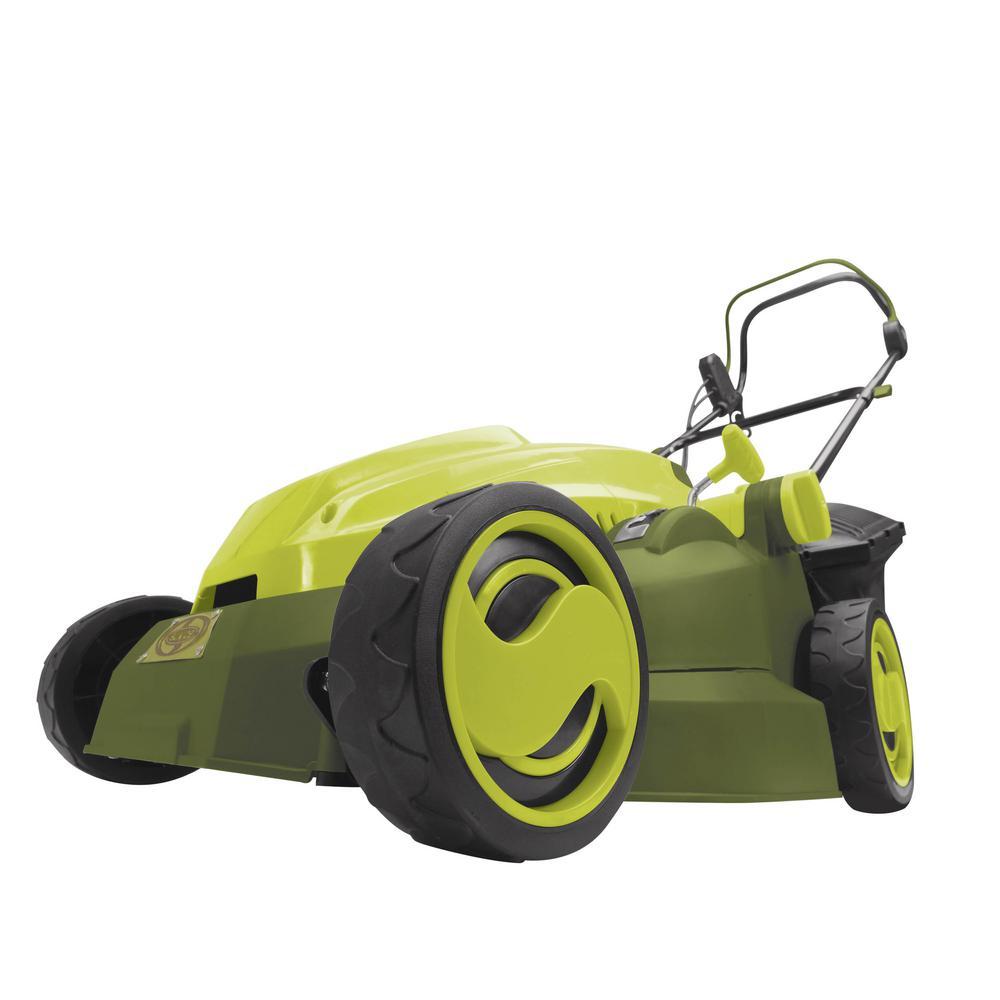 Sun Joe® 15-Inch Corded Electric Lawn Mower/Mulcher in Green