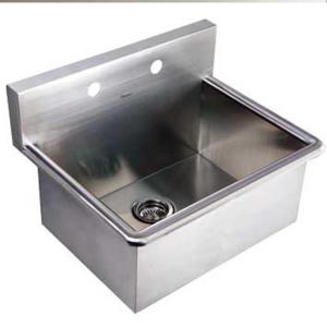Whitehaus Collection Noah's Collection 16-1/2 inch Stainless Steel Utility Sink by Whitehaus Collection