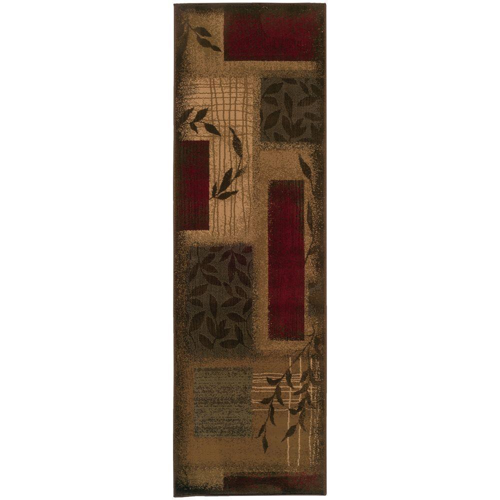 Home Decorators Collection Veneer Beige 3 ft. x 8 ft. Runner Rug