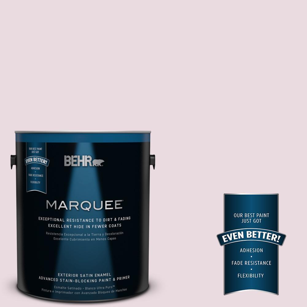 BEHR MARQUEE 1-gal. #S120-1 Wine Pairing Satin Enamel Exterior Paint