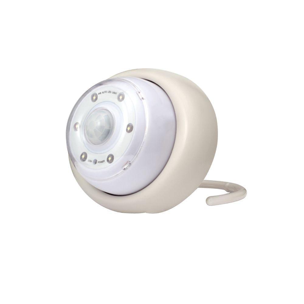 1-Light Battery-Operated White Light Owl