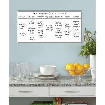 Weekly Planner Wall Applique