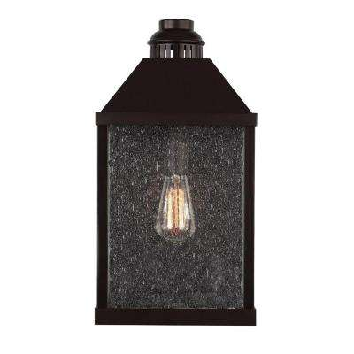 Lumiere Collection 1-Light Oil-Rubbed Bronze Outdoor Sconce
