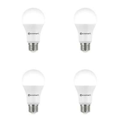100-Watt Equivalent A19 Non-Dimmable CEC LED Light Bulb Daylight (4-Pack)