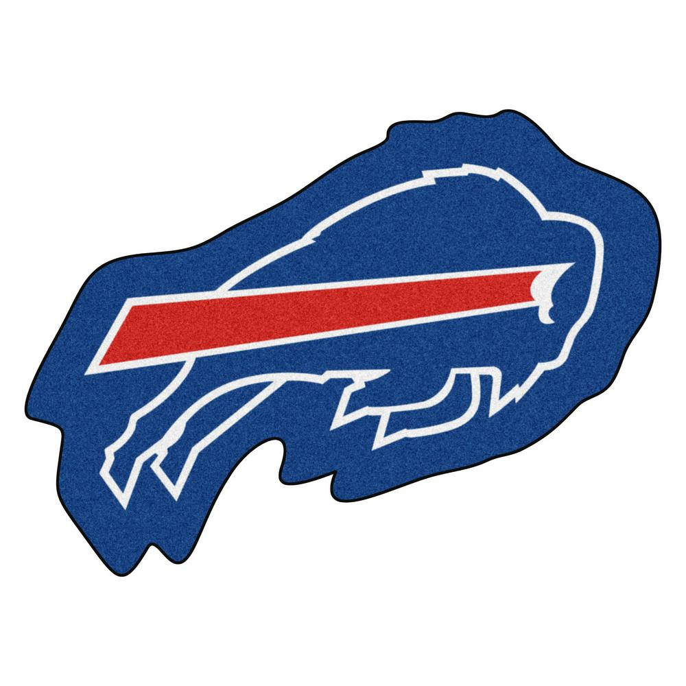 FANMATS NFL - Buffalo Bills Mascot Mat 36 in. x 26.3 in. Indoor Area ... f35330ae4