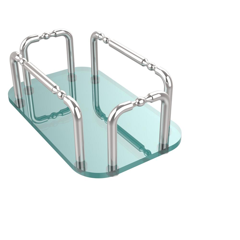 Allied Brass Vanity Top Guest Towel Holder in Polished Chrome-GT-1 ...
