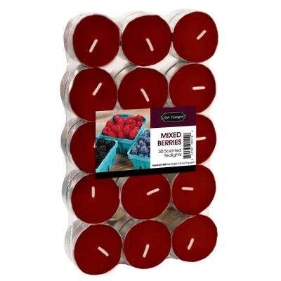 Mixed Berries Tealight Candles (Set of 60)