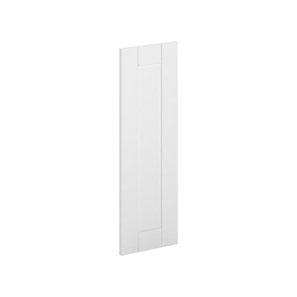 12x36x0.75 in. Princeton Wall Deco End Panel in Warm White