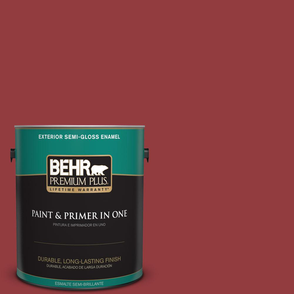 1 gal. #HDC-WR15-12 New Sled Semi-Gloss Enamel Exterior Paint