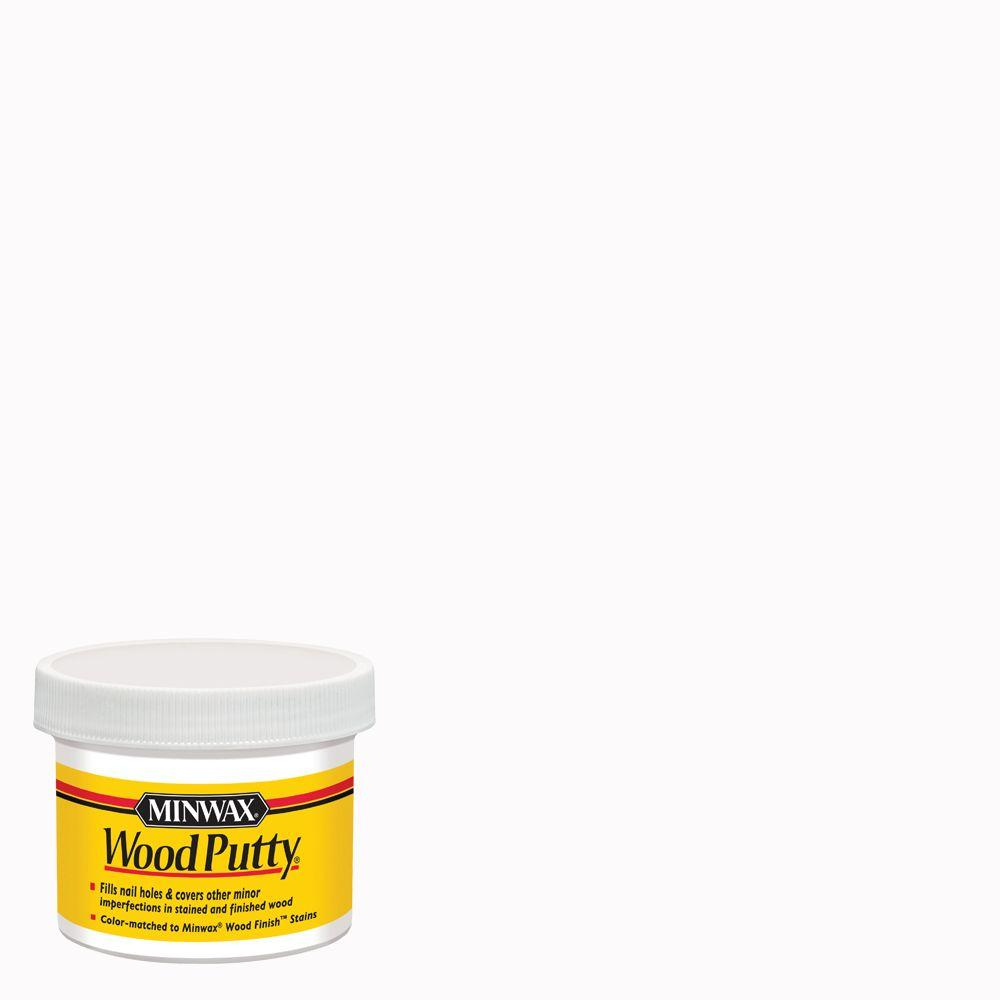 Minwax 3.75 oz. White Wood Putty-13616 - The Home Depot