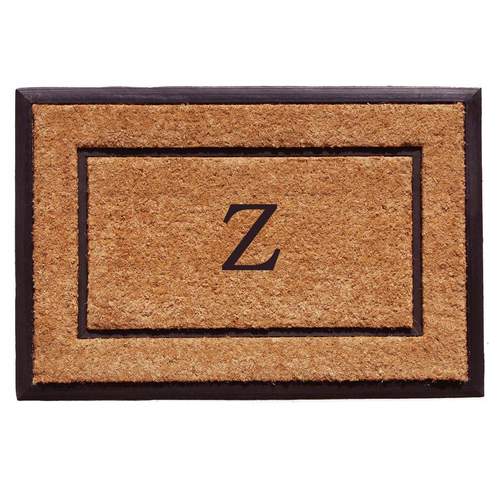 Home & More The General 24 in  x 36 in  Monogram Z Door Mat