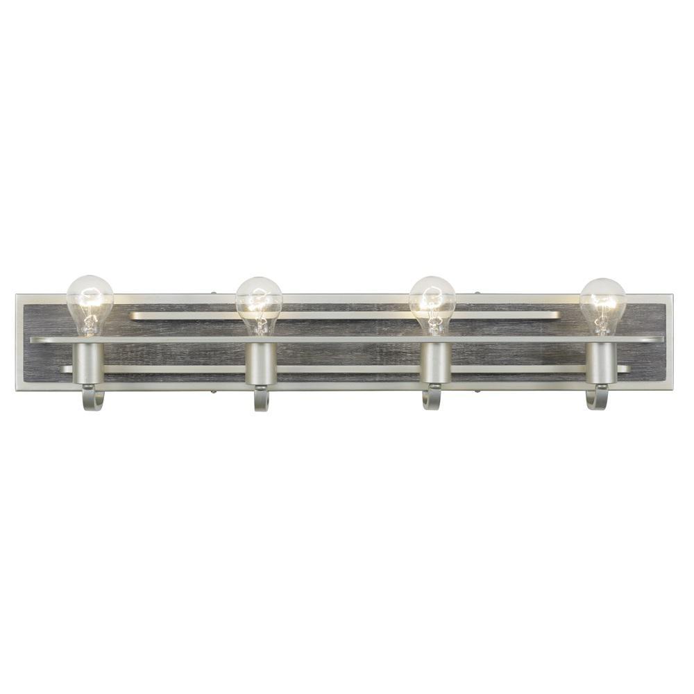 Lofty 4-Light Silverado Bath Light