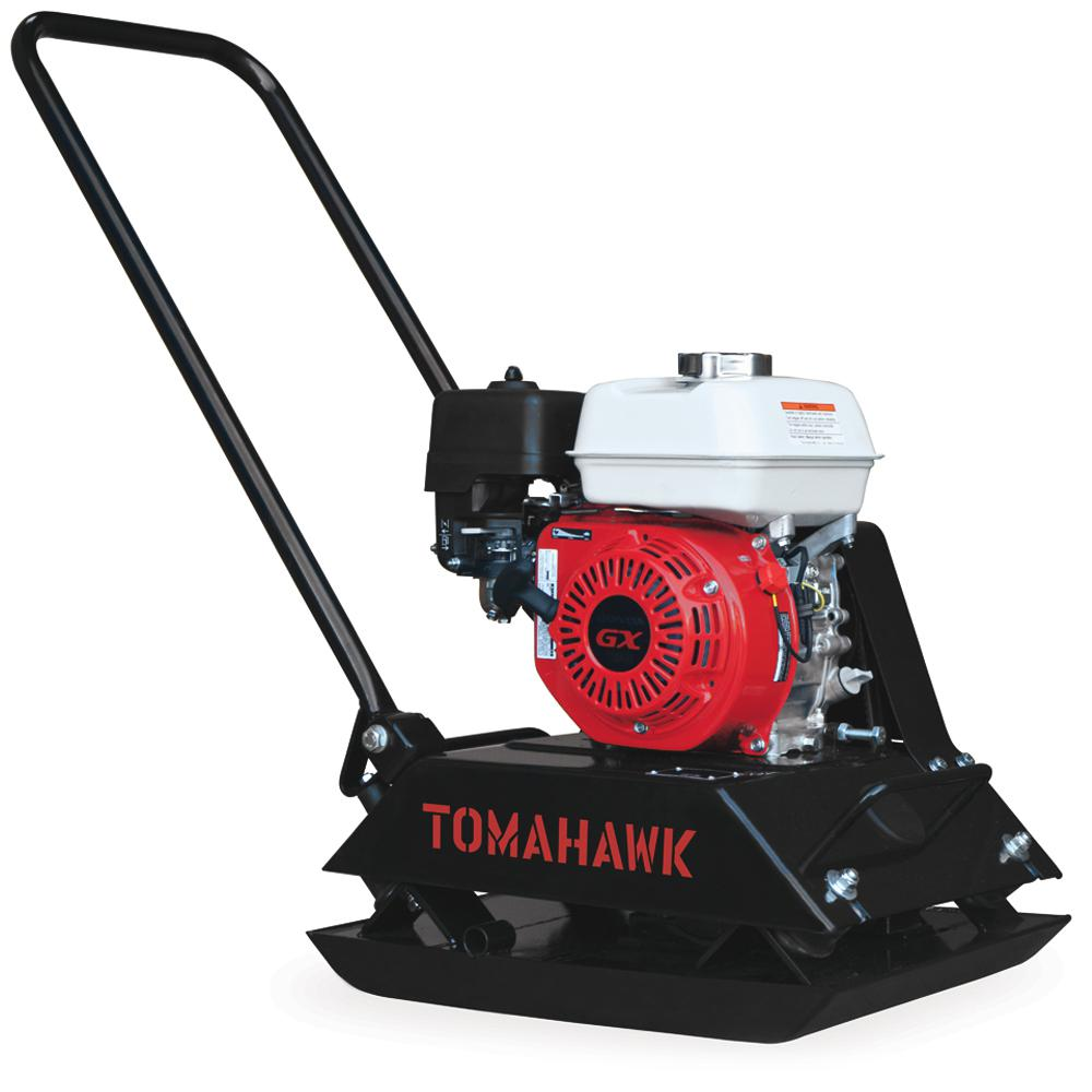 Tomahawk Honda Powered Gas Plate Compactor for Asphalt/Soil Compaction