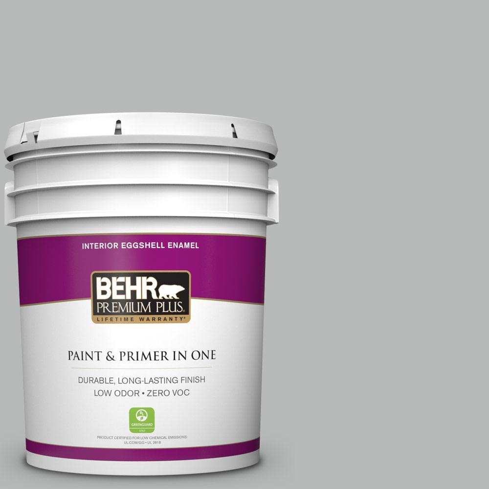 BEHR Premium Plus 5-gal. #N460-3 Lunar Surface Eggshell Enamel Interior Paint
