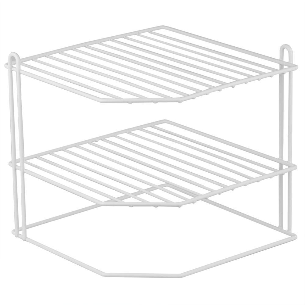 Vinyl Coated Steel Corner Rack