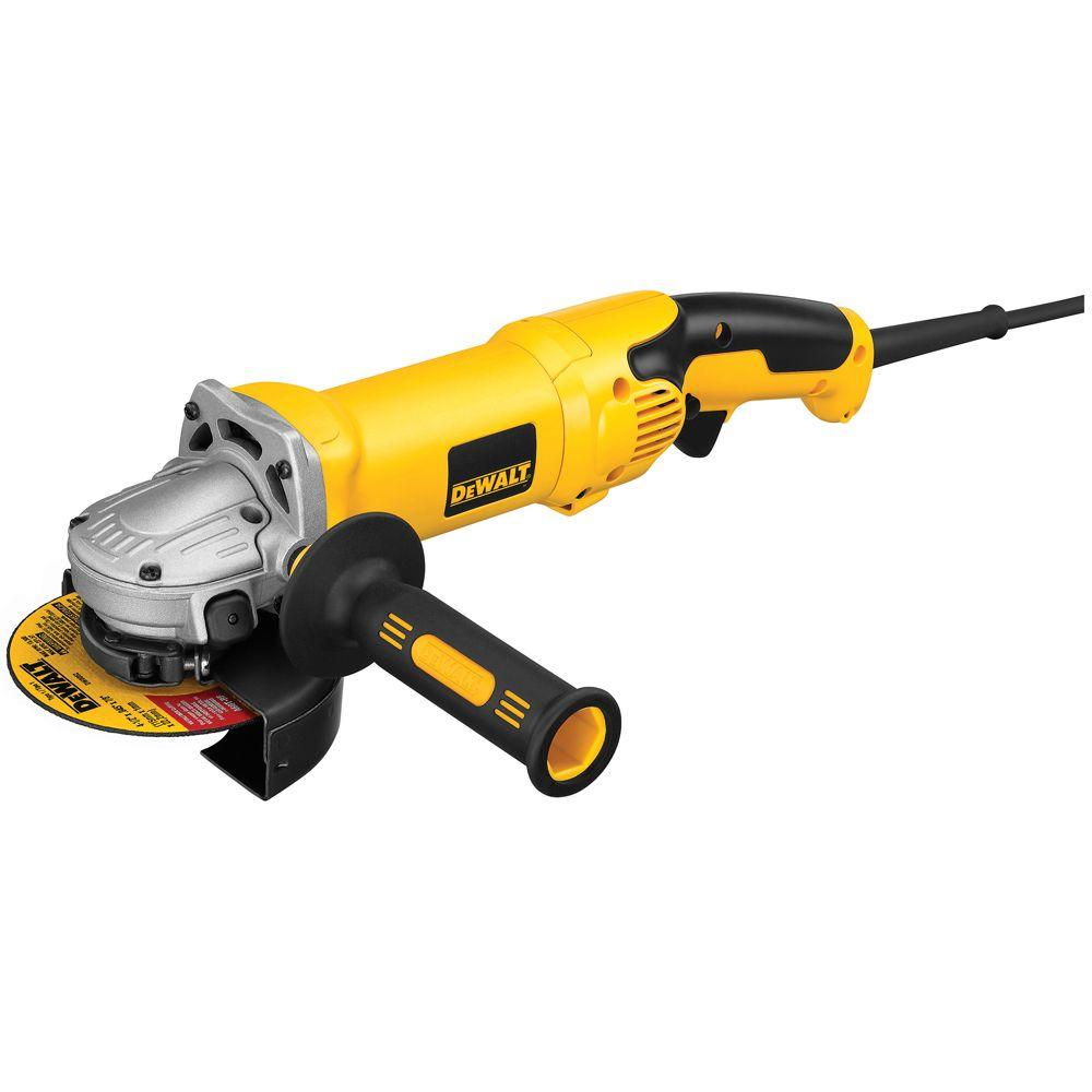 120-Volt 4-1/2 in. x 6 in. Corded Angle Grinder with Trigger