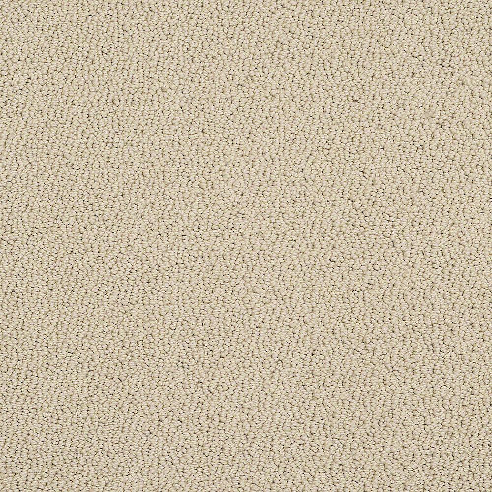 Carpet Sample - Treasure - In Color Khaki Loop 8 in. x 8 in.