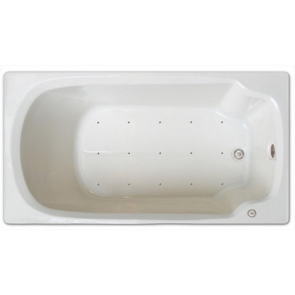 Pinnacle Signature Bath Acrylic 60-inch x 32-inch Drop-In Air ...