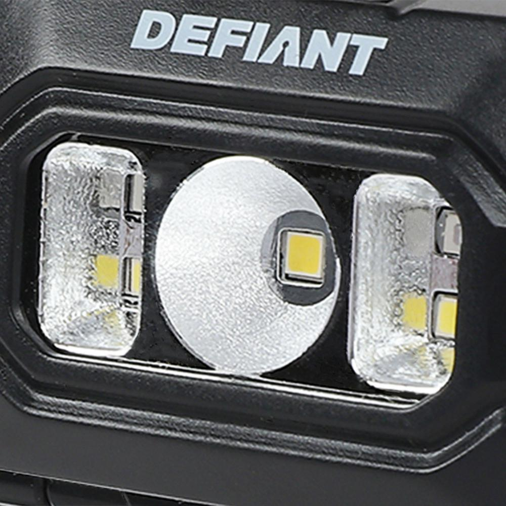 3 Pack Defiant 100 Lumens LED Headlamp Combo